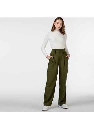 Lacoste Kadın  Pantolon HF0102.02H Yeşil
